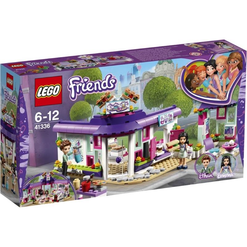 [保證正品] LEGO 樂高 積木 41336 Friends Emma 艾瑪的藝術咖啡廳 現貨 全新 未拆封