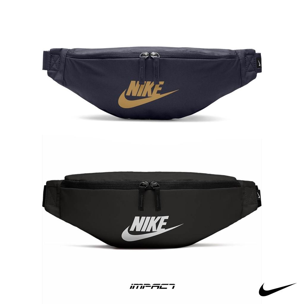 Nike Heritage Hip Bag 黑 腰包 斜肩包 BA5750-010 BA5750-452 IMPACT