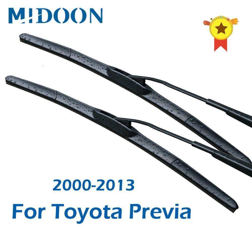 靜音雨刮片適用於豐田previa ft重型鉤臂/ms2000至20132012201020082007