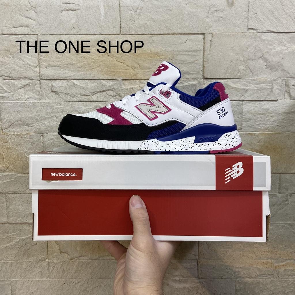 TheOneShop new balance nb 530 W530PSA 白色 桃紫色 潑漆 皮革 反光 慢跑鞋 運動