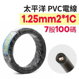 京港電子_中科【210301020006】【不可超取】太平洋PVC電線 1.25m