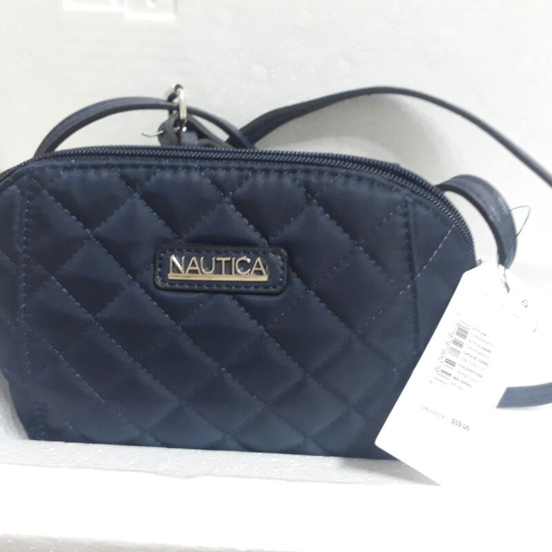 現貨全新正品特價 美國NAUTICA 藍色淑女包.斜背包