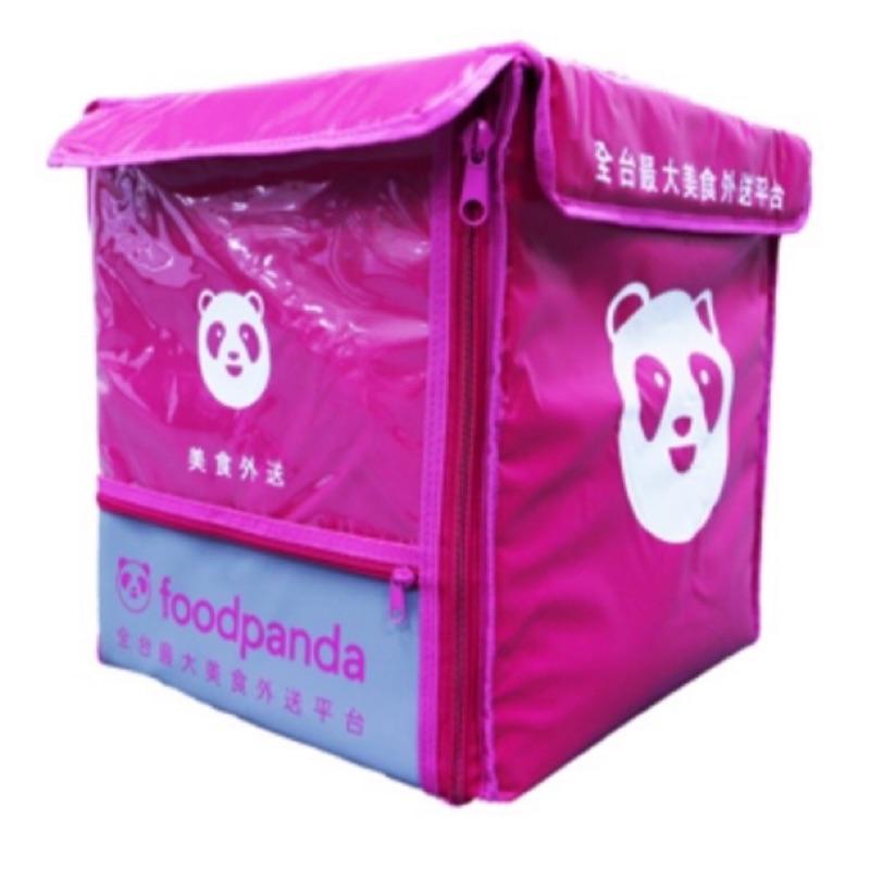 現貨 Foodpanda 外送箱  單車包 走路包 熊貓背包