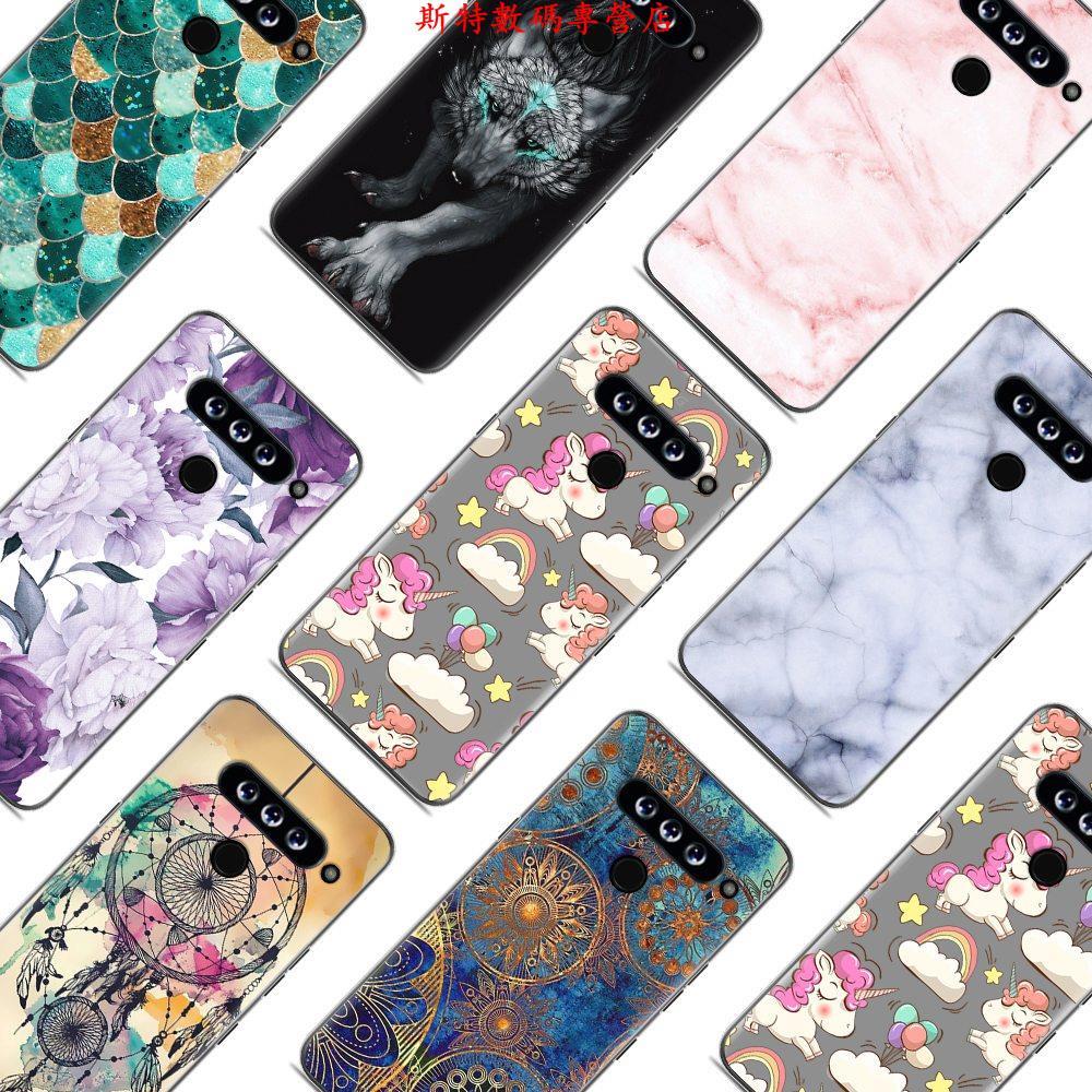 現貨#G8 ThinQ來圖定制LG V50手機殼定制LG G8手機套情侶照片DIY客制