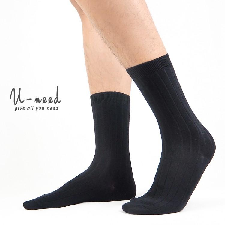 【6送1,10送2】紳士襪 西裝襪 休閒襪 加大棉襪 台灣製 襪子 中筒襪 工作襪 加大款【CT56】Uneed