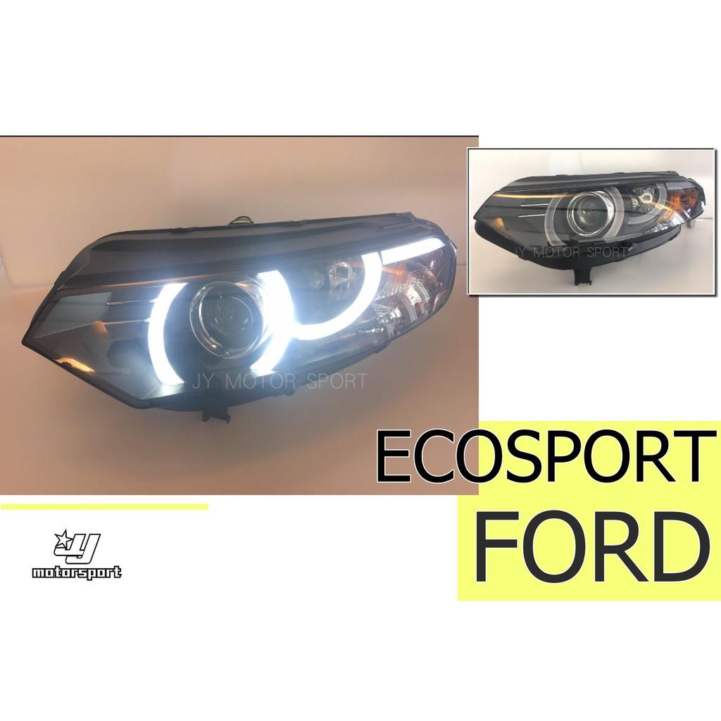 小傑車燈精品--全新 福特 FORD ECOSPORT 2013-2016年 導光 魚眼 大燈