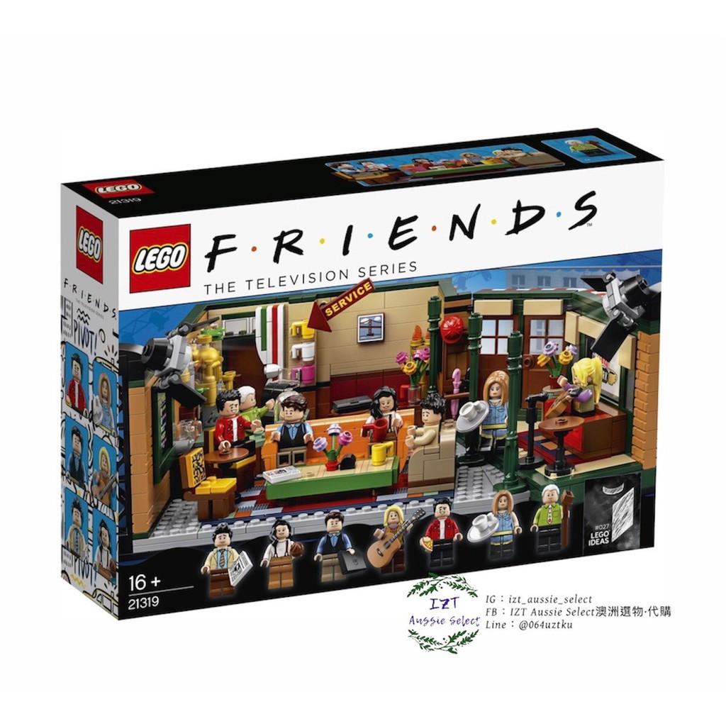 LEGO樂高 21319 六人行(FRIENDS)中央公園咖啡館-現貨秒出