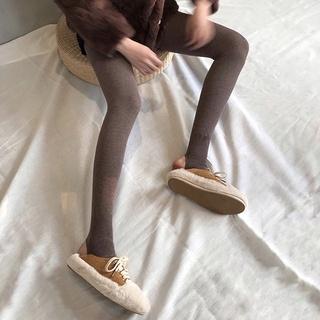 【YWQS】新店限量福利 kumayes連身褲打底褲內搭褲緊身褲褲襪加絨打底襪連身襪連體襪1200d簡約純色秋冬女加厚保