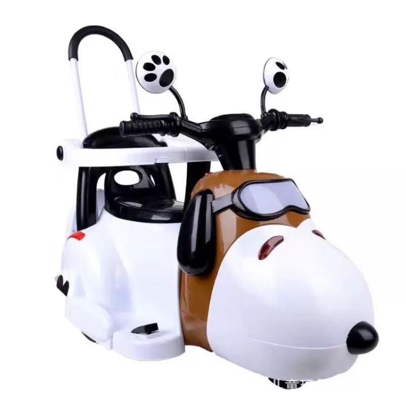 新款史努比兒童電動摩托車🏍️