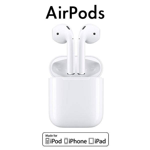 Apple AirPods 2代 搭配有線充電盒 藍牙無線耳機 台灣公司貨 原廠供應 現貨 當天出貨 刀鋒