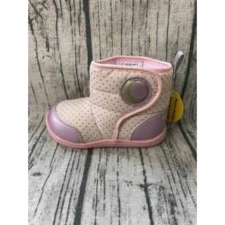 Moonstar月星Carrot機能童鞋 童款魚高筒學步鞋 寶寶鞋 00A4-粉紅特賣490元 基隆市