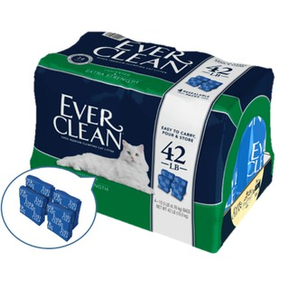 現貨 新包裝 上市 EVER CLEAN 藍鑽 超強效低敏貓砂25Lb 42lB 臺中市