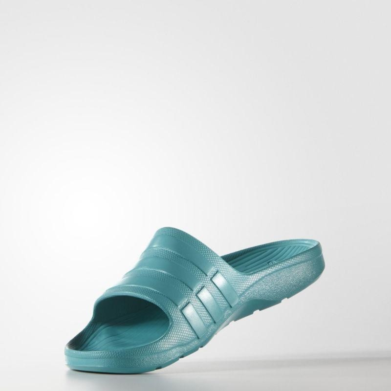adidas 全EVA橡膠防水運動拖鞋