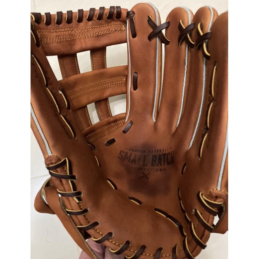 外野手套 限量 Horween皮革 Easton Small Batch 系列美規 12.75吋 Wilson 棒球壘球