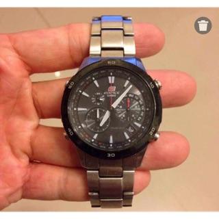 卡西歐電波計時三眼錶 台北市