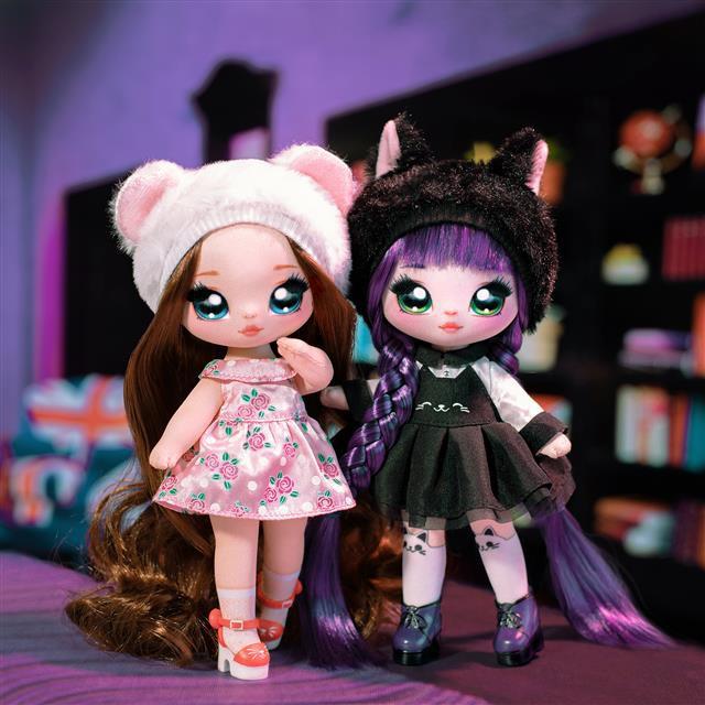 【魚魚小店免運】正版MGA娜娜娜nanana surprise驚喜布偶少女波姆娃娃盲盒女孩玩具