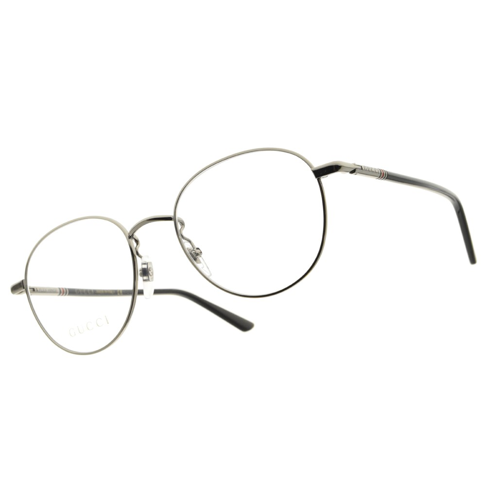 GUCCI 光學眼鏡 GG0392O 001 復古金屬圓框 眼鏡 -金橘眼鏡