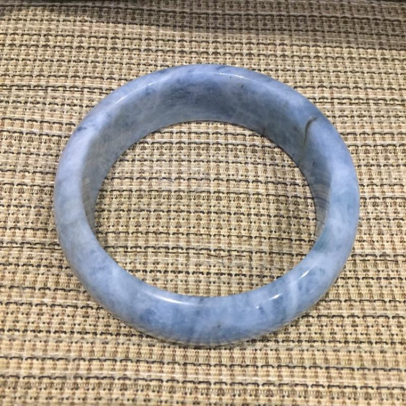 天然寶石-海藍寶手鐲