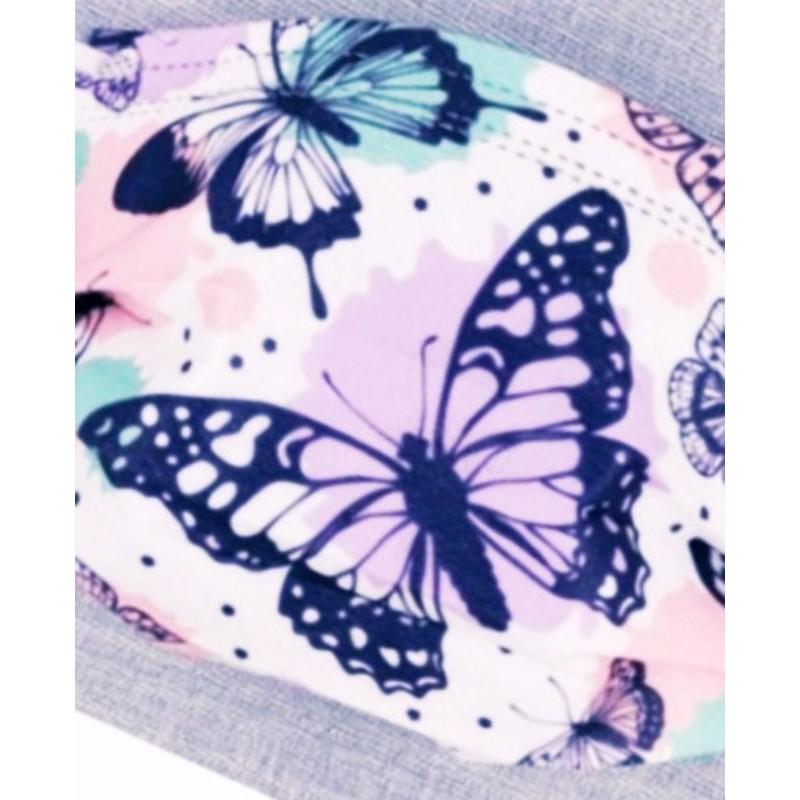 🔥現貨 熱賣🔥【蝴蝶】口罩  🎀蝴蝶系列🎀  彩蝶口罩 (粉黛 翩翩)  印花口罩 (非醫用)  成人款