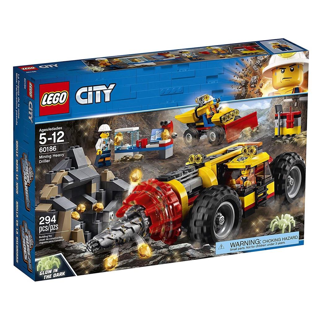 [Yasuee台灣] LEGO 樂高 60186 採礦重型鑽孔機 城市系列 下單前請先詢問
