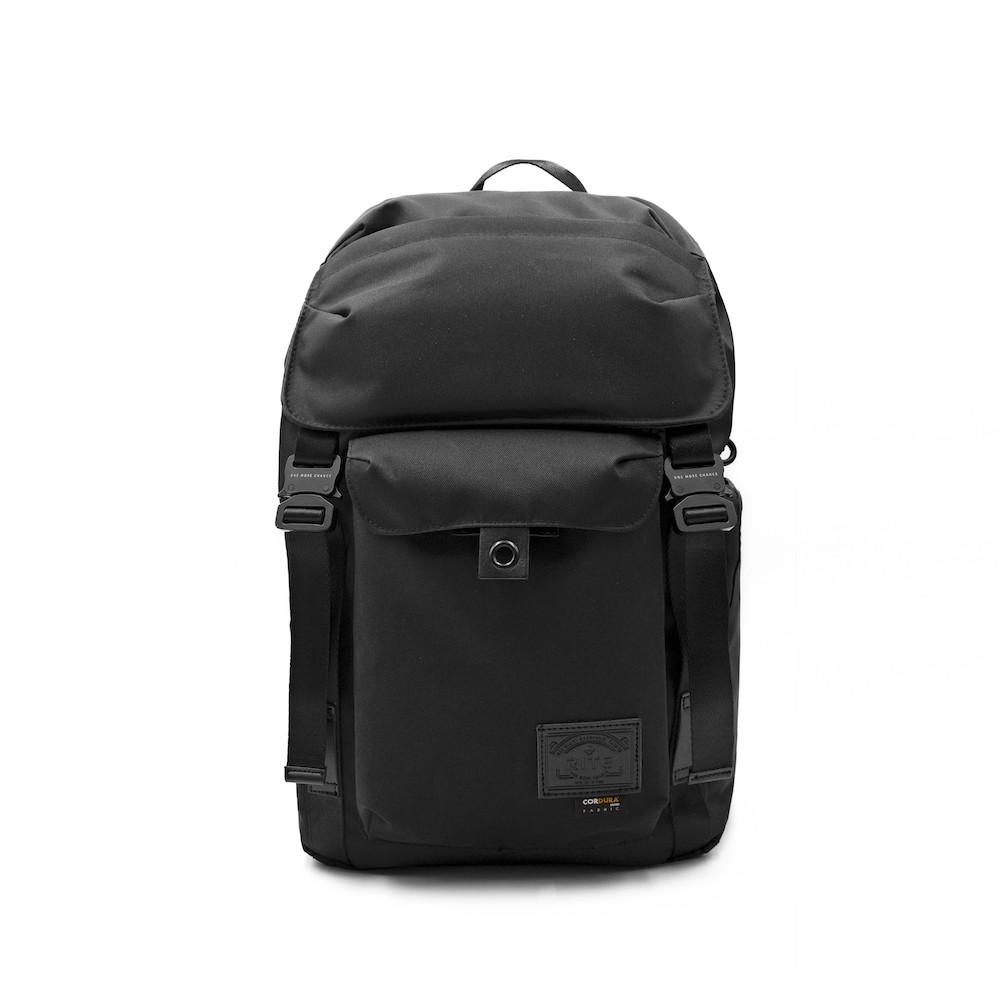 RITE TT01空軍包 軍感cordura機能筆電後背包 內附可拆卸腰包 黑色