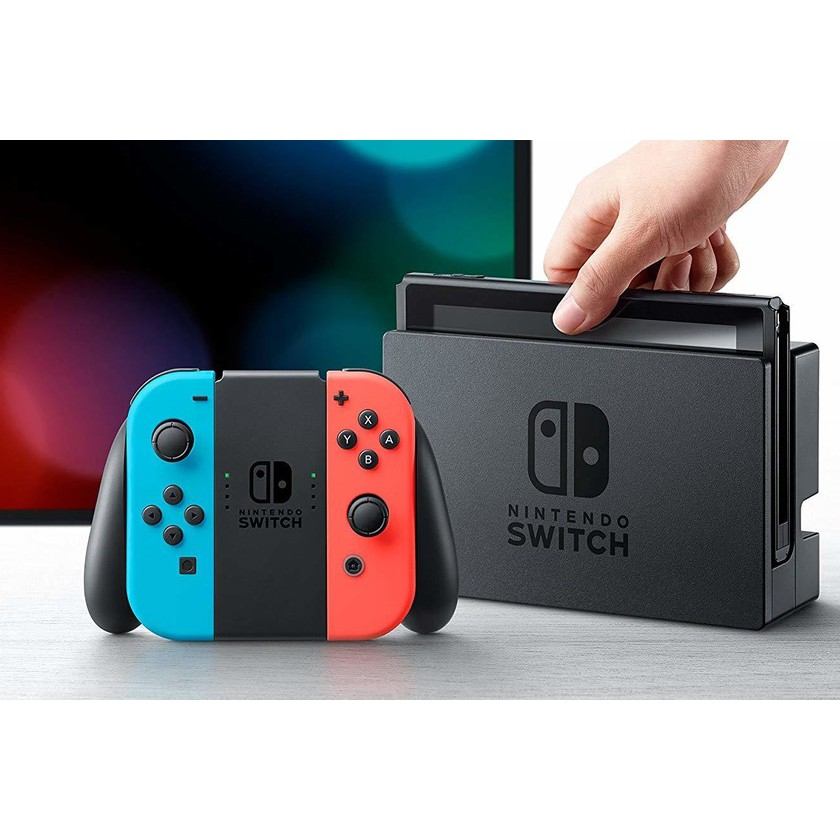 ★全新公司貨★ switch 主機 紅藍 電力加強版 台灣公司貨