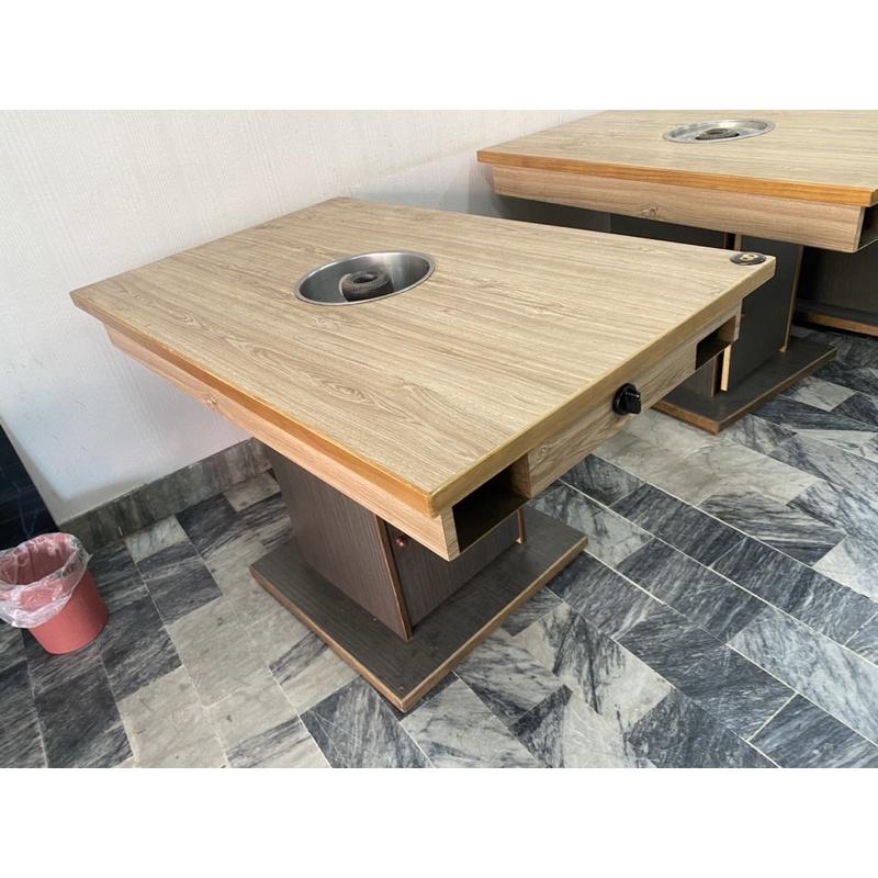 (二手)四角型火鍋桌