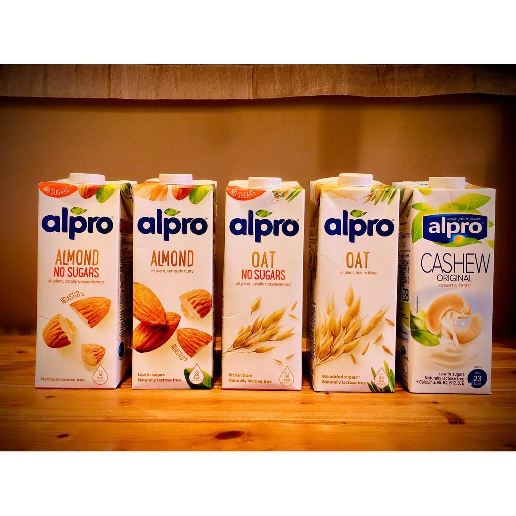 三罐免運優惠! 比利時 ALPRO 🏆 杏仁奶 燕麥奶 原味 無糖 腰果奶 植物奶 非動物奶 1L