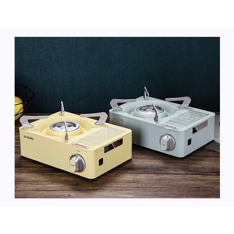 台灣現貨 代購韓國Dr.HOWS  迷你馬卡龍系列卡式爐 附手提收納硬盒