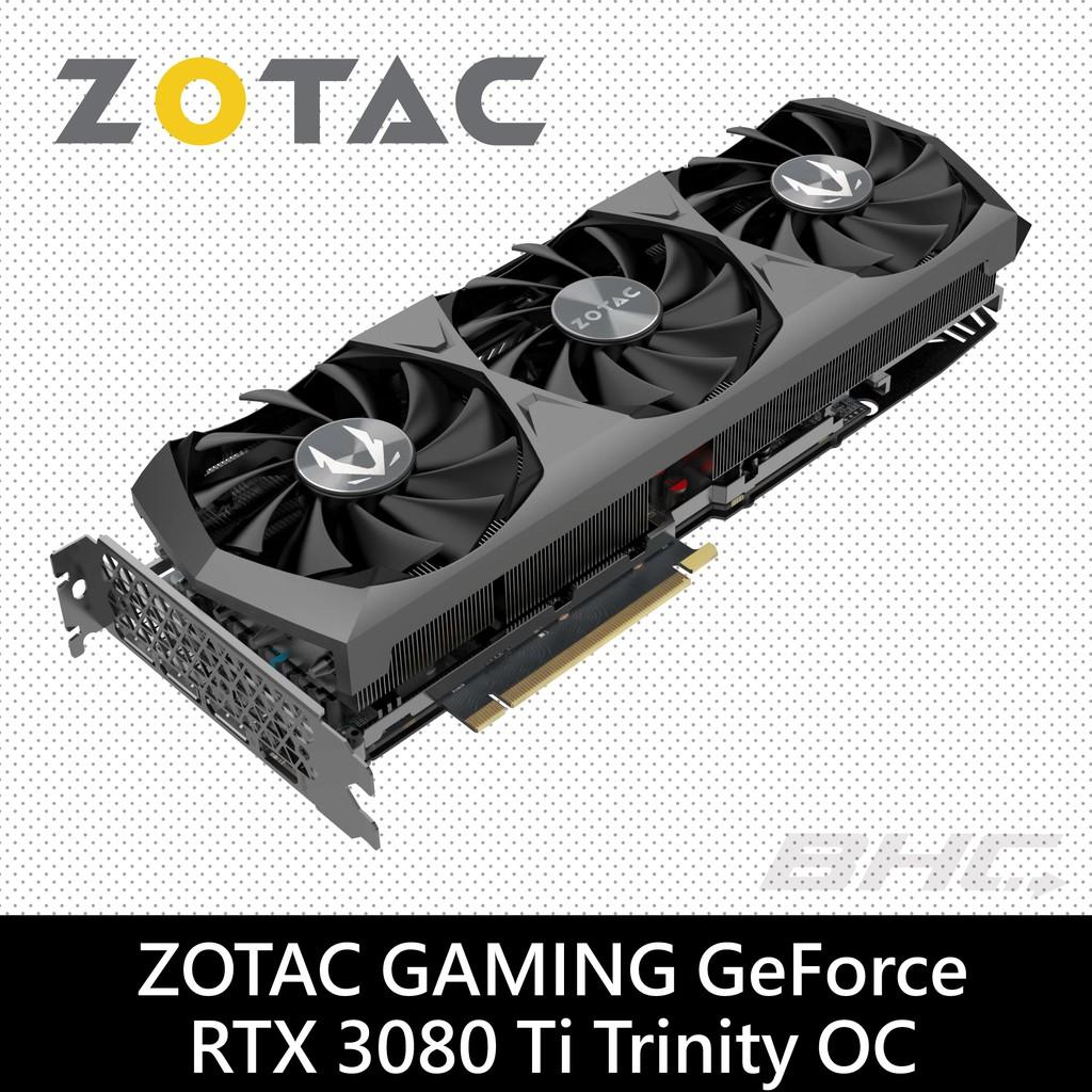 ZOTAC GAMING GeForce RTX 3080 Ti Trinity OC 顯示卡
