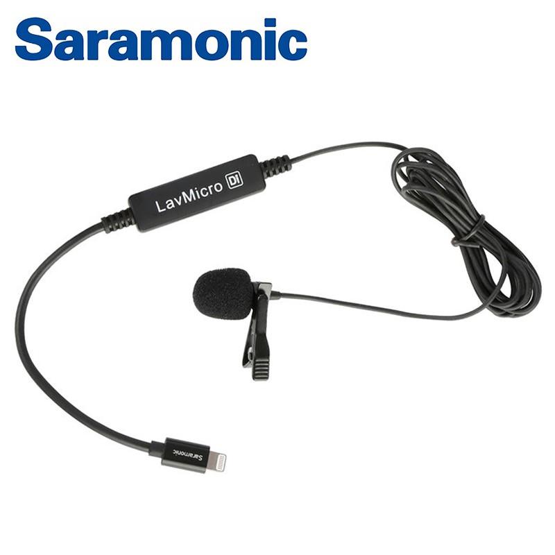 Saramonic iPhone專用麥克風 LavMicro Di 領夾式全向電容式麥克風 [相機專家] [勝興公司貨]
