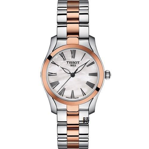 TISSOT 天梭/T-Wave 時尚 手錶 (T1122102211301)珍珠母貝