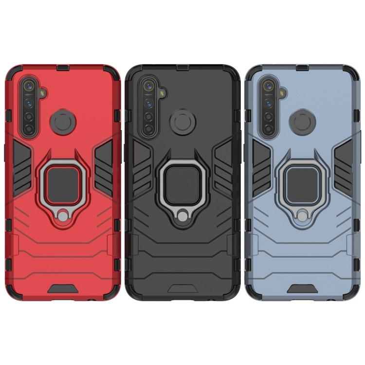 適用 Realme XT 5 Pro 6I C3 6 X50 X3 指環鋼鐵俠 手機殼 防摔殼 指環扣 支架 支架手機殼