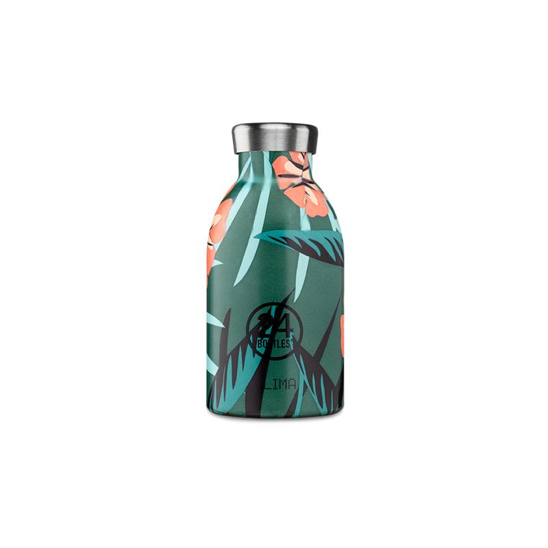 【24Bottles 城市水瓶】不鏽鋼雙層保溫瓶 330ml/熱帶風情