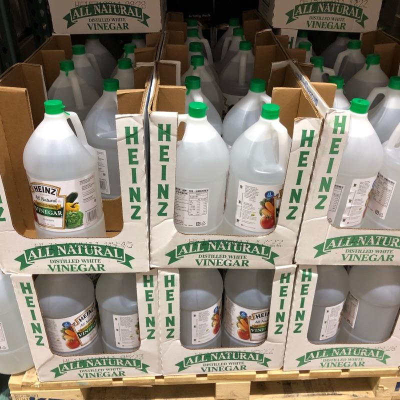 🛍好市多Costco 代購 HEINZ WHITE VINEGAR 蒸餾白醋 5公升