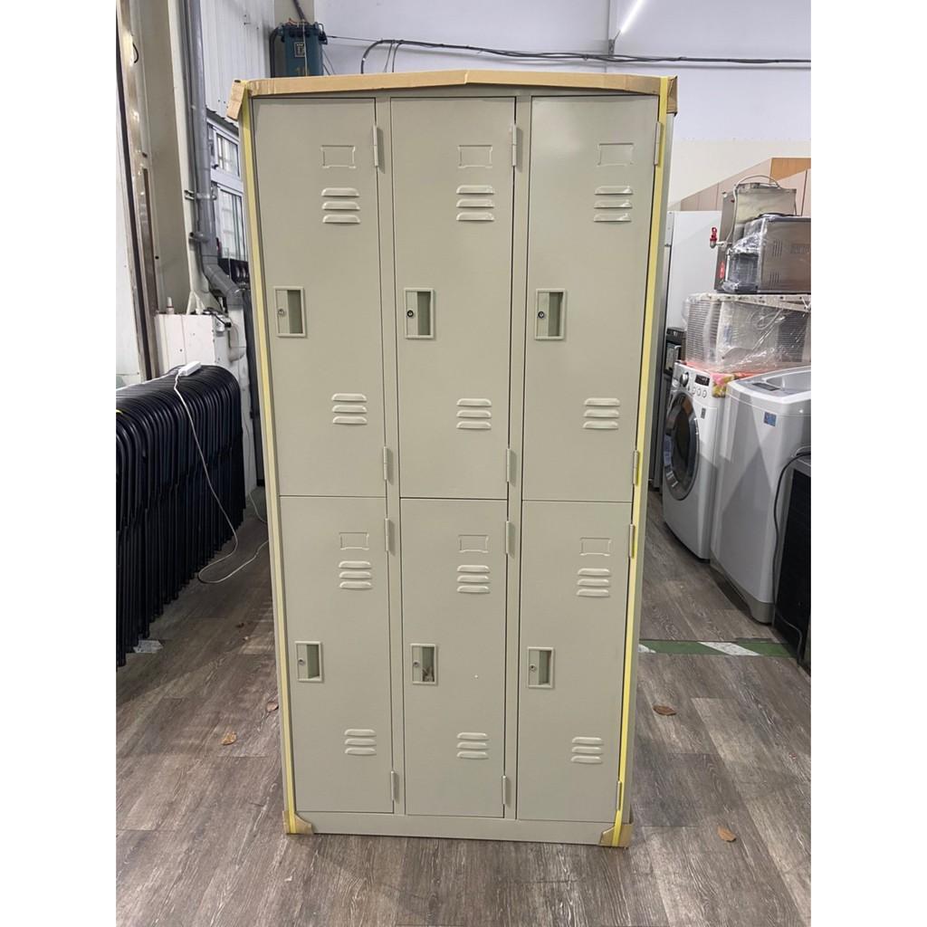 吉田二手傢俱❤全新 6格 9格 12格 15格 18格 置物櫃 員工櫃 鐵櫃 衣櫥