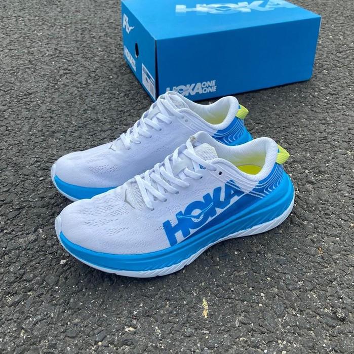 正品現貨 HOKA ONE ONE CARBON X EVO限量競速緩震運動馬拉松跑鞋