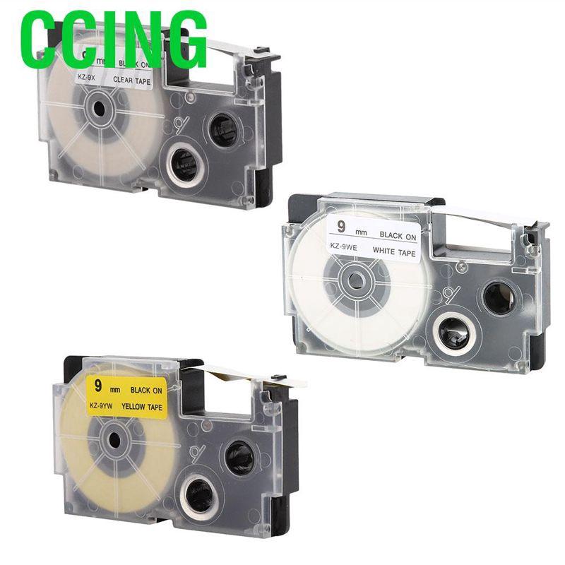 CCing 卡西歐標籤製造商KL-60 / 1的9毫米標籤製造商磁帶