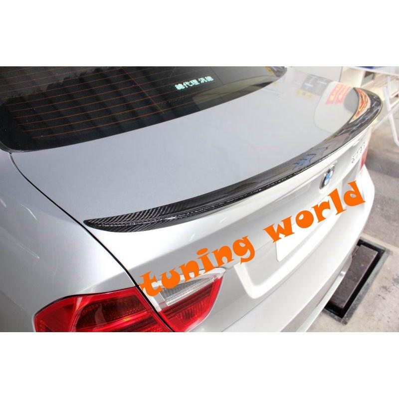 BMW E90 3系列 鴨尾 尾翼 P 款 CARBON 碳纖維 (附3M雙面膠)