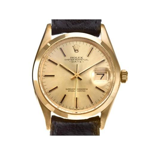 Rolex-mens 勞力士1500蠔式恒動日誌型18K金腕錶