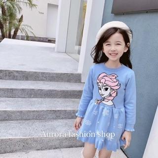 🇹🇼 歐蘿菈童裝💕女童 愛紗公主針織洋裝 台中市