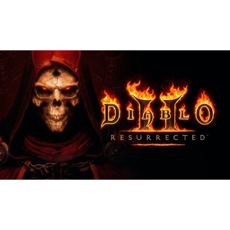 暗黑破壞神 II:獄火重生 數位版  暗黑2重製版 Diablo Resurrected 正版授權 售後服務