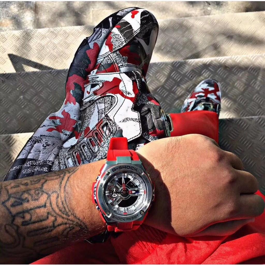 🍁《潮牌代購店》卡西歐錶 casio G-SHOCK T400系列 電子錶 賽車錶 男女手錶腕錶三防運動錶 五色可選