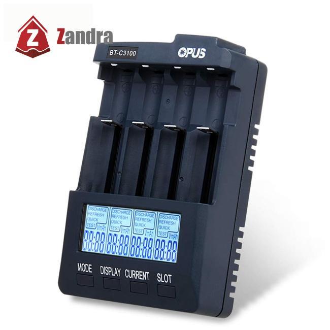 ZD OPUS BT-C3100 v2.2 智能4槽充電器 BC3100充電器