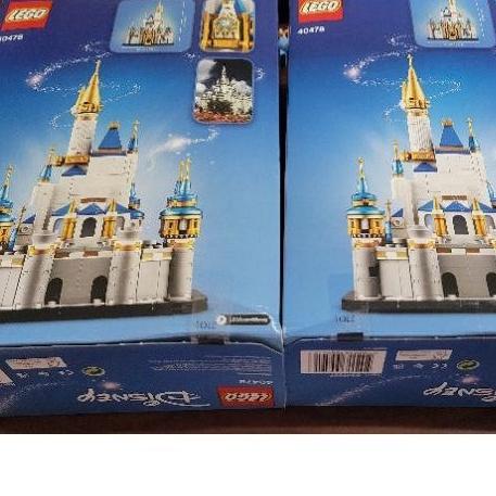 盒損 全新 現貨 樂高 40478 LEGO 迪士尼城堡 另有71040