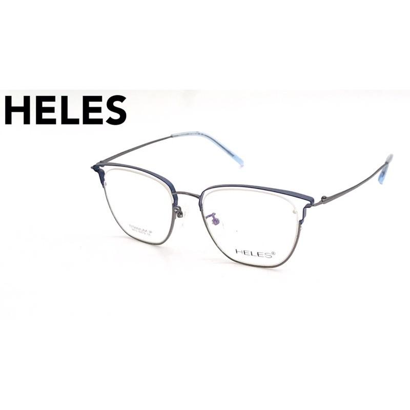【本閣】HELES 6673 韓國光學眼鏡大框方框 titanium IP電鍍超輕