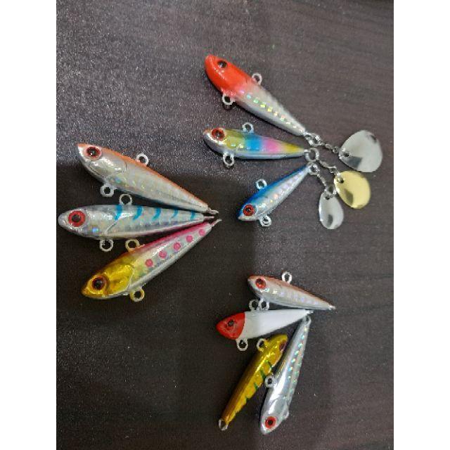 魚型鐵板   VIB 顫泳 米諾 路亞竿 鐵板竿 捲線器 軟蟲 亮片 spoon 雷強竿 pe線  魔獸 岸拋竿
