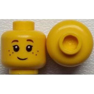 公主樂糕殿 LEGO 31050 人頭 臉 黃色 女生 雀斑 3626cpb0690(A-305)限量