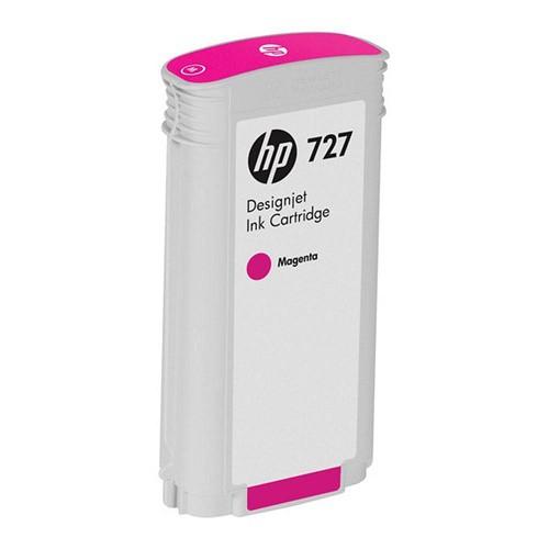 HP 惠普 B3P20A 727 130ml Magenta 原廠墨水匣 紅色墨水匣 DesignJet T1500