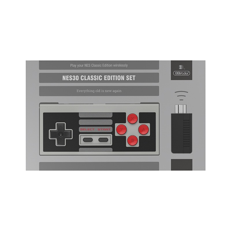 8Bitdo八位堂mini NES經典無線接收器手柄套裝 NESmini藍牙接收器【力天電子】